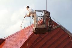 Čištění a nátěry střechy (100)
