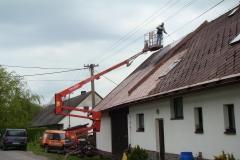 Čištění a nátěry střechy (106)