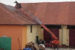 Čištění a nátěry střechy (110)