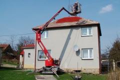 Čištění a nátěry střechy (114)