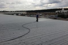 Čištění a nátěry střechy (130)