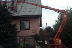 Čištění a nátěry střechy (140)