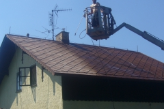 Čištění a nátěry střechy (145)