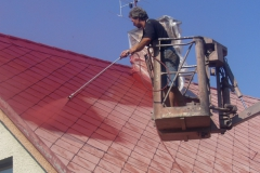 Čištění a nátěry střechy (149)