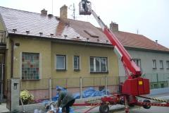 Čištění a nátěry střechy (153)