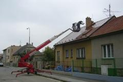 Čištění a nátěry střechy (154)