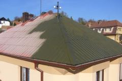 Čištění a nátěry střechy (155)