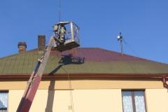 Čištění a nátěry střechy (156)