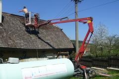 Čištění a nátěry střechy (157)