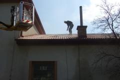 Čištění a nátěry střechy (162)