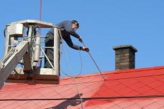 Čištění a nátěry střechy (165)