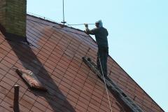 Čištění a nátěry střechy (175)