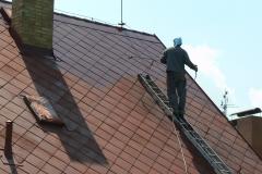 Čištění a nátěry střechy (177)