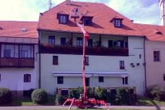 Čištění a nátěry střechy (57)