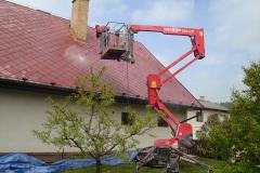 Čištění a nátěry střechy (91)
