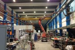 Nettoyage des salles de production