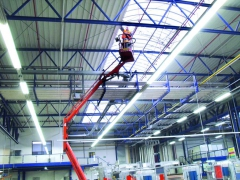 Cleaning of the fire protection systems