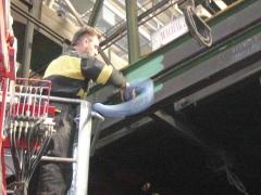 Nettoyage des constructions en acier
