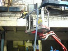 Nettoyage des constructions de bâtiments