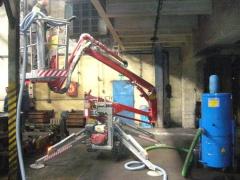 Nettoyage des locaux industriels