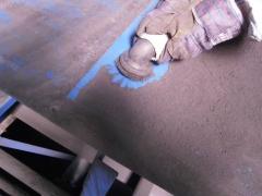 Nettoyage à l'aspirateur des constructions en acier