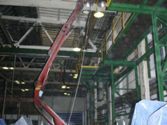 Cleaning of electrical installations