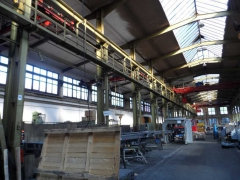Cleaning of industrial spaces