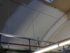 Cleaning of ceilings