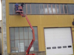 Cleaning of sheathing