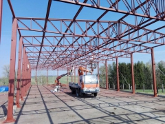 Coatings of steel structures