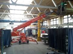 Vymalování výrobní haly