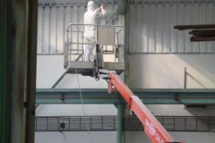 Whitening of production hall