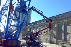 Čištění a nátěry ocelových konstrukcí