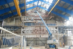 Cleaning and coatings of steel structures