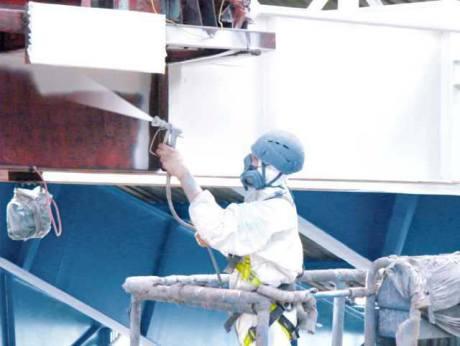 (Česky) Malování ocelových konstrukcí