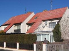 Stav před realizací zakázky - Údržba ALU střechy domu ( Plzeňský kraj okres Plzeň-město)