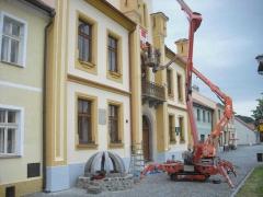 Práce z pracovních plošin ( Plzeňský kraj okres Klatovy)