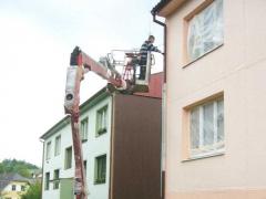 Výškové práce z pracovních plošin ( Jihočeský kraj okres Prachatice)