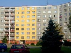 Nátěr fasády panelových domů bez lešení ( Plzeňský kraj okres Klatovy)
