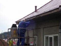 Drobné zednické opravy omítky domu ( Karlovarský kraj okres Karlovy Vary)