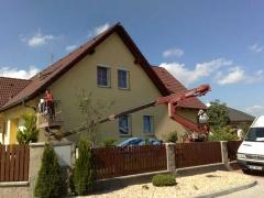 Renovace dřevěných podhledů ( Plzeňský kraj okres Domažlice)