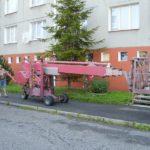 Speciální zdvihací pracovní stroje ( Jihočeský kraj okres Český Krumlov)