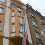 Výškové práce z pracovní plošiny ( Středočeský kraj okres Praha-západ)