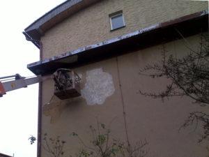 Provádíme drobné opravy fasády ( Středočeský kraj okres Praha-východ)