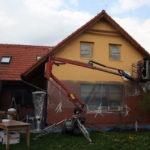 Změna kabátu rodinného domu ( Jihočeský kraj okres České Budějovice)